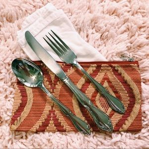 Vintage Accessories - Secondhand Zero Waste Kit - Spoon, Knife & Fork